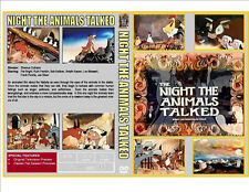 THE NIGHT THE ANIMALS TALKED (1970) DVD - CASE & ARTWORK - BELOVED XMAS CLASSIC!