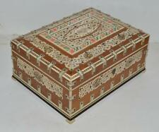 Anglo Indian Top Quality Wooden Jewellery Casket / Box