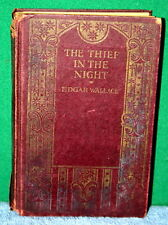 Vintage Book - The Thief In The Night by Edgar Wallace NY World Wide Publishing