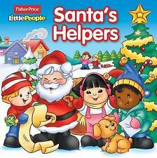 Fisher-Price Little People Santa's Helpers (8 x 8)-ExLibrary
