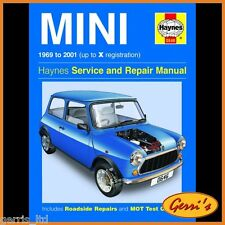 0646 Haynes Mini (1969 - 2001) Gasolina hasta X Manual De Servicio