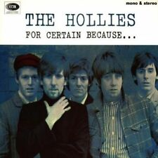 NEW CD Album The Hollies - For Certain Because ... (Mini LP Style Card Case)