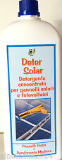 Deter Solar Detergente Per pannelli fotovoltaici e solari concentrato 1:10