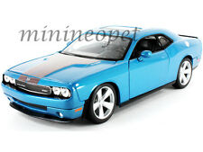MAISTO 31280 2008 08 DODGE CHALLENGER SRT8 6.1 HEMI 1/24 DIECAST MODEL CAR BLUE