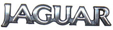 "NEW Silver ""Jaguar"" Trunk Badge Emblem XJS 1992 - 1996 BEC22056"
