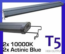 "T5 Aquarium Light 36"" Fish tank T5HO Overhead FOUR TUBES 90cm to 100cm"