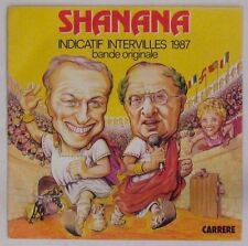 Shanana 45 tours  Intervilles 1987 Guy Lux Léon Zitrone