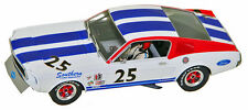 Pioneer P029R '67 Mustang Fastback, 1/32 slot car, #25, red wheel center