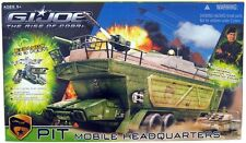 "Hasbro G.I.JOE / GI JOE Movie Rise of Cobra "" PIT MOBILE HEADOUARTERS "" - Hot"