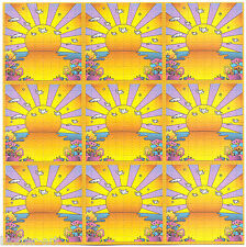ORANGE SUNSHINE 9 PANEL BLOTTER ART - UNDIPPED SHEET FULL SIZE