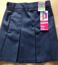 M&S Classic Pleat  Grey School Skirt. 4 Years. BNWT