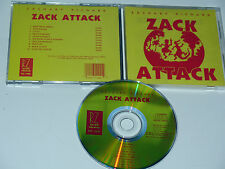 Zachary Richard Zack Attack RARE 1989 CD release. this is NOT the LP Record