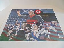 NY Giants Super Bowl XXV Print by M. Corning