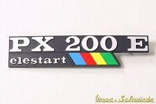 """Vespa logo emblème pages capot """"px200e elestart Arcobaleno"""" px 200 E Lusso"""