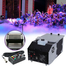 1500W Low Lying Smoke Fog Dry Ice Effect Machine DJ Stage Wireless Remote In US