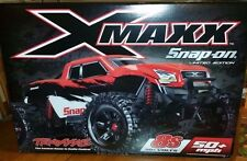 TRAXXAS X-MAXX RC TRUCK SNAP ON LIMITED EDITION RED 1/5 SCALE XMAXX X MAXX