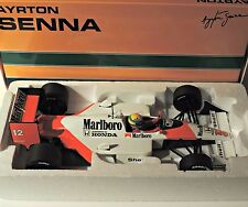 Ayrton Senna 1988 1:18 Marlboro MCLAREN Honda MP4/4  f1 / car model MINICHAMPS