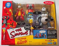 The Simpsons Treehouse Of Horror Talking Play Set New In Package King Kong Homer