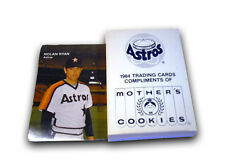 1984 Astros Mother's Cookies Baseball Factory Trading Card Set