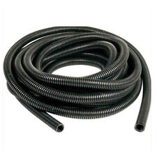 "20' Feet 3/8"" Black Split Loom Wire Flexible Tubing Wire Conduit Hose Sales"