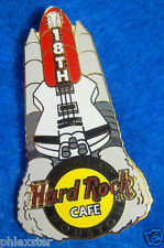 HOUSTON NASA SPACE SHUTTLE LAUNCH PAD 18TH ANNIVERSARY Hard Rock Cafe PIN LE