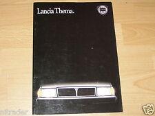 Lancia Thema Sales Brochure N.9405 V / 85