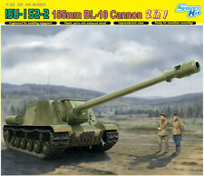 1/35 Soviet ISU-152-2 155mm BL-10 Cannon 2-in-1 ~ Smart Kit ~ Dragon 6796