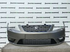 SEAT IBIZA 2013-2015 FRONT BUMPER IN GREY GENUINE [O28]