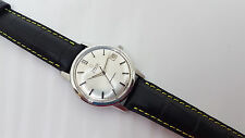USED VINTAGE 60'S OMEGA SEAMASTER SILVER DIAL DATE  AUTO MAN'S WATCH