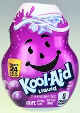 Kool Aid Grape Liquid Drink Mix 1.62 oz Makes 24 glasses