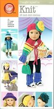 I TAUGHT MYSELF TO KNIT DOLL CLOTHES! 5 PATTERNS! FITS AMERICAN GIRL MARYELLEN