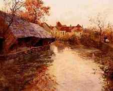 Thaulow Frits A Morning River Scene 5 A4 Print