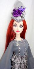 "OOAK Evangeline Ghastly Mortal Love Mourning Mist HAT Wilde 18"" Doll Tonner MINT"
