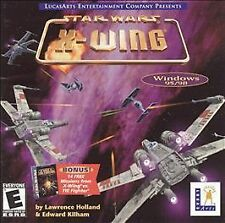 Star Wars: X-Wing Collection on CD ROM for DOS PC & Strategy Guide.