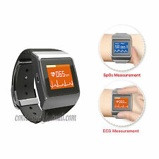 US CONTEC Sports Wearable ECG SPO2 Monitor Wireless Heart Rate Monitor CMS50K