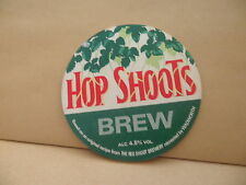 Red Shoot Brewery Hop Shoots Ale Beer Pump Clip face Pub Bar Collectible 40