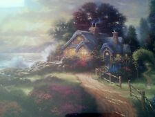 A New Day Dawning by Thomas Kinkade 11 x 14 Matted Print & Framed with COA