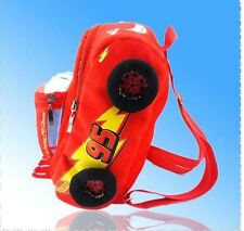New McQueen Cars  plush cartoon school bag children backpack gift bag :FE