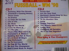 Paul King & The Champions - Fussball - WM 98 (World Championship France) (