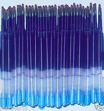 Brand New 20 GEL Ballpoint Refills for PARKER PEN BLUE .7mm Plastic Barrel G2