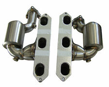 Porsche Boxster 986 Stainless Steel Manifolds with embedded 200 Cell Sports Cats