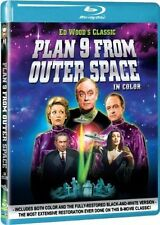 Blu Ray PLAN 9 FROM OUTER SPACE. Ed Wood. UK compatible. New sealed.