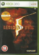 Resident Evil 5 XBox 360 FREE SHIPPING