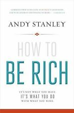How to Be Rich book with DVD: It's Not What You Have. It's What You Do With What
