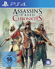 Assassin's Creed: Chronicles Trilogie (Sony PlayStation 4, 2016)