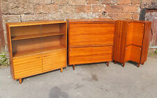 BEAVER TAPLEY 1960s Glazed BOOKCASE Cocktail CABINET Corner CUPBOARD Storage