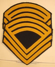 US Army Male Master Sergeant Chevrons Strips Rank Pair Indian Wars Reproduction