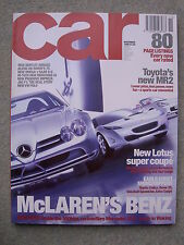 Car (Nov 1999) Lotus M250, Mercedes SLR,CL600 v Bentley Arnage, MR2, Cordoba WRC