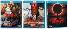 Berserk The Golden Age Series Trilogy Complete UNCUT Arc 1 2 3 BluRay/Box Set(s)