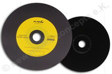25 Giallo CD vinile disco CD-R 700 MB Design giradischi, Cd dati nero